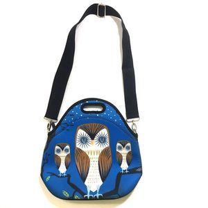OWL Insulated Neoprene Lunch Bag